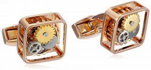 Tateossian - CL0679 - Boutons de Manchette Homme - Plaqué Argent - Verre de la marque Tateossian image 0 produit