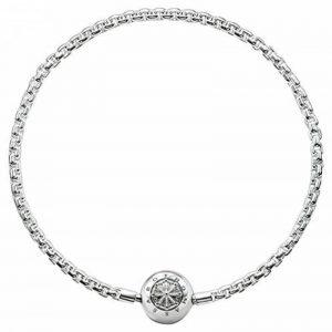 Thomas Sabo Femmes Hommes-Bracelet Karma Beads Argent Sterling 925 Longeur 17 cm KA0001-001-12-L18 de la marque Thomas Sabo image 0 produit