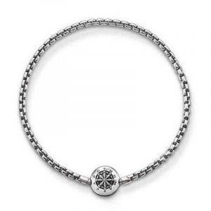 Thomas Sabo Femmes Hommes-Bracelet Karma Beads Argent Sterling 925 noirci Longeur 20 cm KA0002-001-12-L21 de la marque Thomas Sabo image 0 produit