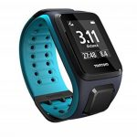 TomTom Runner 2 Music - Montre GPS - Bracelet Large Bleu Marine / Turquoise (ref 1REM.001.01) de la marque TomTom image 2 produit