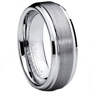 Ultimate Metals Co. 7MM Bague Alliance Tungstene Pour Homme de la marque Ultimate Metals Co. image 0 produit