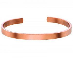 Uni Cuivre massif Bracelet 1/10,2cm Large de la marque acemagnetics image 0 produit