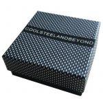 Vis Bracelet Manilles d'ancrage - Homme Femme - Bleu Nautique Marin Sur Cordon Tressé Entrelacé - Envelopper Bracelet de la marque COOLSTEELANDBEYOND image 4 produit