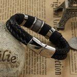Wowl Mode Multi-Layer en cuir véritable homme Bracelets pour Père Frère Cadeau de la marque Wowl image 4 produit