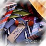 YAH2001 Jolie idée cadeau-Aléatoire-Lot de 4 Boutons de manchette de soie Par Y &G de la marque Y&G image 6 produit