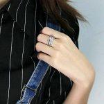 yoursfs Classics Mix assortie mariage bague de fiançailles 3en 1Serti Oxyde de Zirconium Plaqué Or 18K Diamant Bijoux de la marque Yoursfs image 4 produit