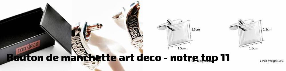 bouton de manchette art deco pour 2018 notre top 11 bijoux pour homme. Black Bedroom Furniture Sets. Home Design Ideas